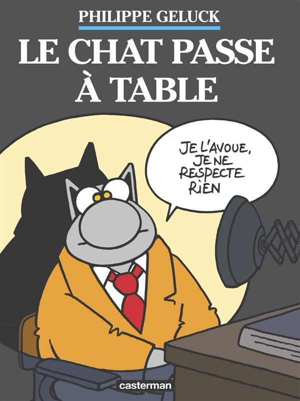 LE CHAT T19 LE CHAT PASSE A TABLE (COFFRET 2 VOL) Geluck Philippe Casterman